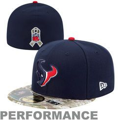 the latest 2c499 d7455 ... discount houston texans new era navy blue digital camo salute to service  on field 59fifty fitted