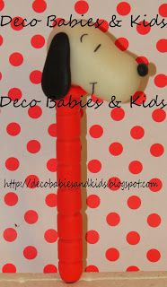 Deco Babies & Kids: Lapiceras Snoopy