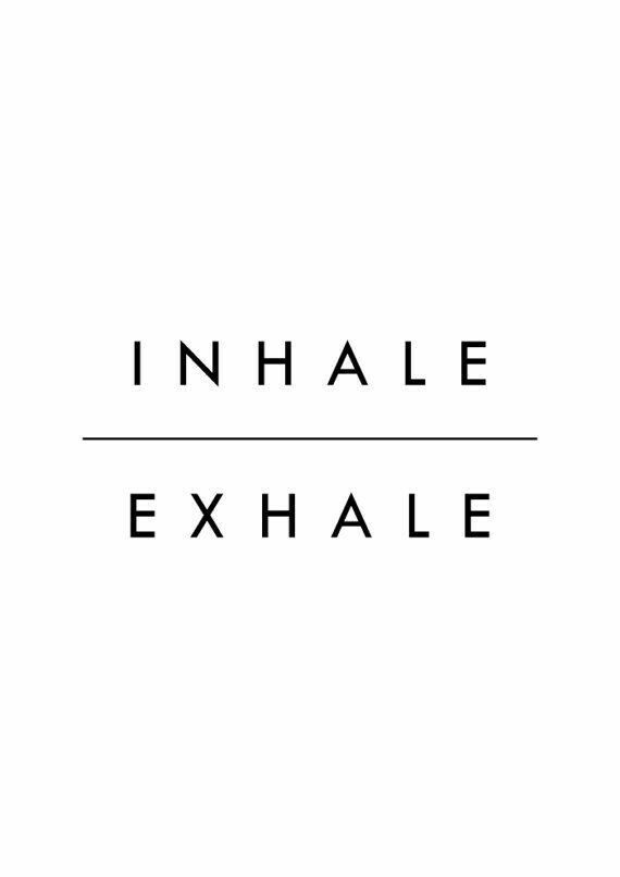 Inhale And Exhale Yoga Minimalist Quotes Quotes 233 S
