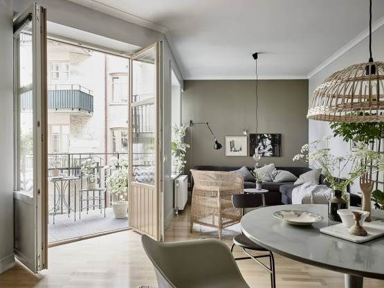 Decoración perfecta en tonos naturales Living spaces, Scandinavian