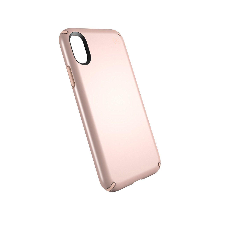 Speck Products Presidio Case For Iphone X Rose Gold Metallic Dahlia Peach Iphone Future Iphone Iphone Cases
