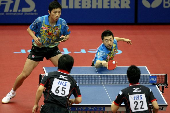 Is Table Tennis Doubles Played The Same Way As In A Singles Game Or Are There Any Differences In The Rules