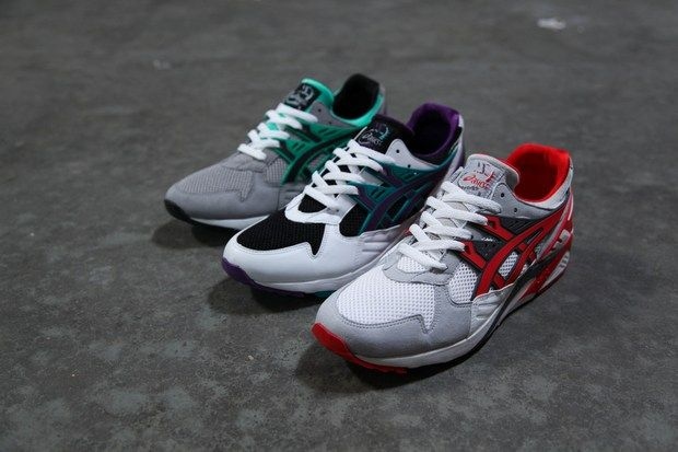 asics gel kayano red and white