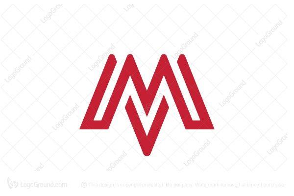 Exclusive Logo 26258 Letter M Mm Logo Mm Logo Lettering Logos