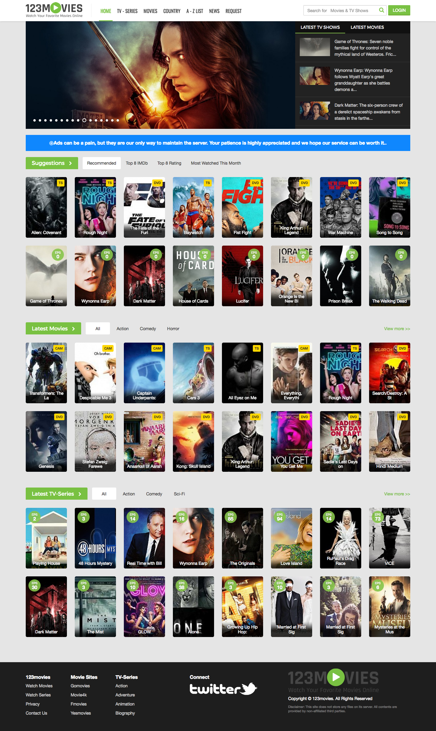 GoMovies - Watch Online Movies Free | 123movies