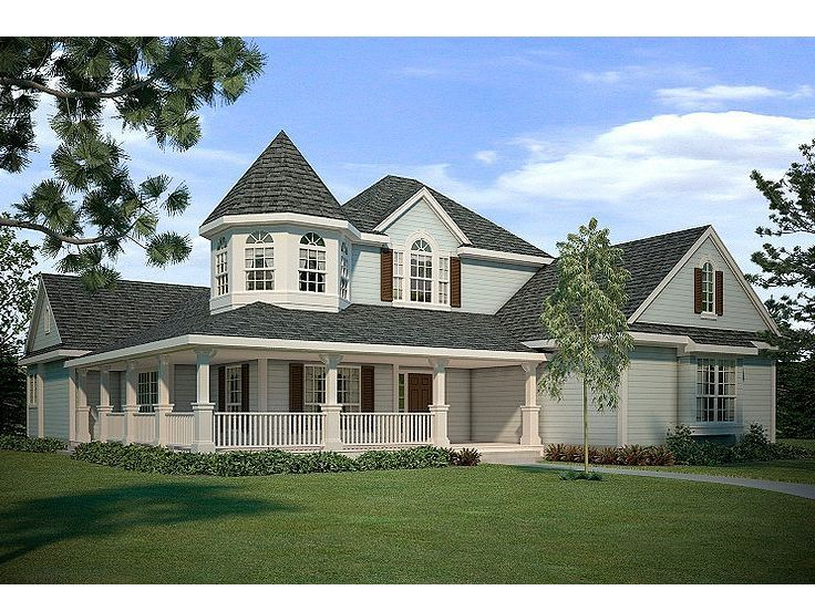 036H-0065: Victorian Home Plan Offers Game Room