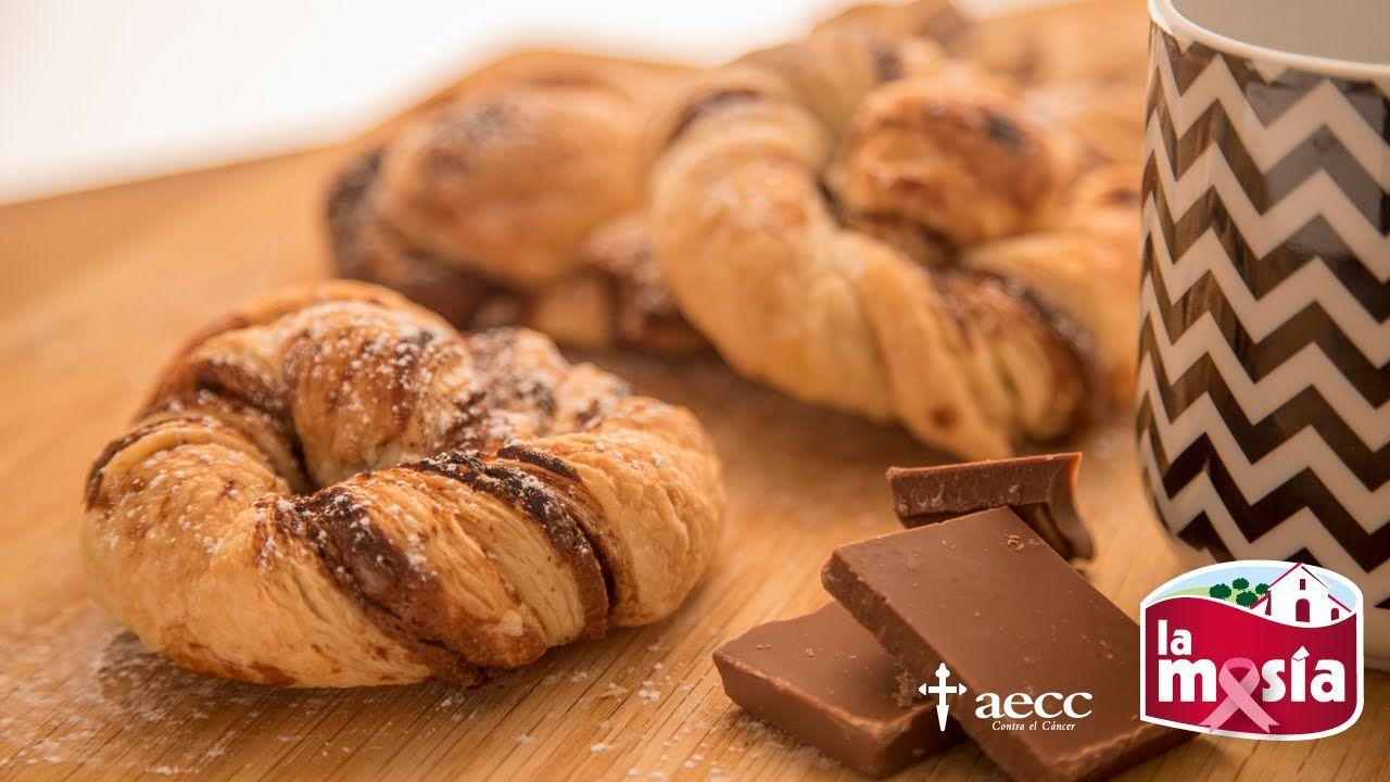 #Caracolas de #chocolate. No te pierdas esta deliciosa receta dulce, ideal para preparar con los más peques. La #receta, en nuestro blog. #repostería