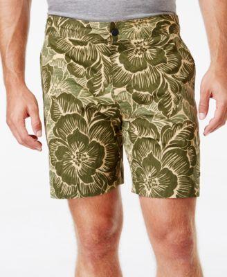 TOMMY HILFIGER Tommy Hilfiger Men's Surfside Floral Print Board Shorts. #tommyhilfiger #cloth # swimwear