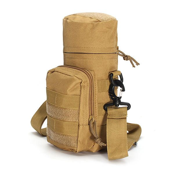 4735298bb4cc KCASA KC-BC05 Molle Water Bottle Carrier Travel Climb Outdooor Waist Belt  Tactical Kettle Bag