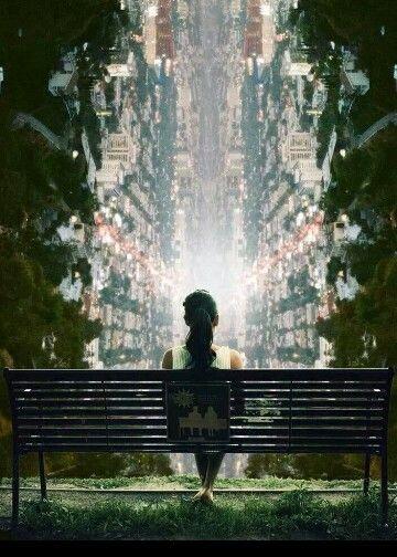 Fate una pausa Fermatevi un istante e guardate il mondo. .
