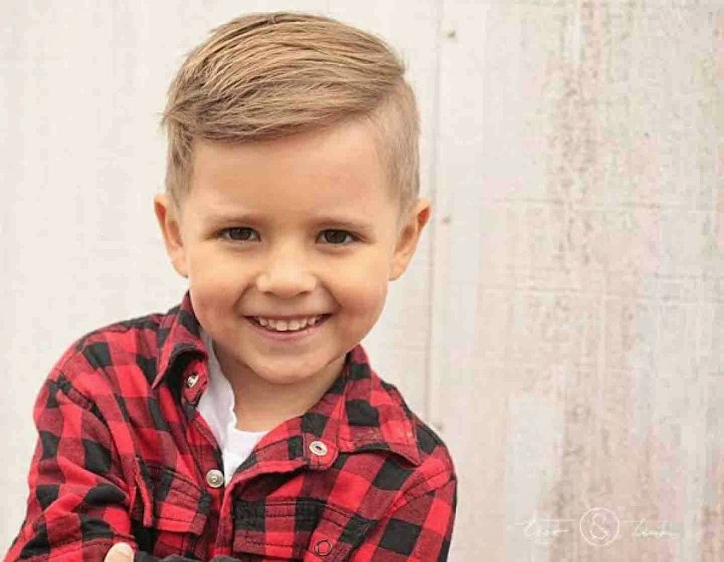 Trendy short kids haircuts boys with fade blonde hair health