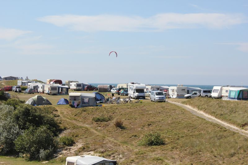CAMPING VILLAGE DE ROGUENNIC, Emplacements camping