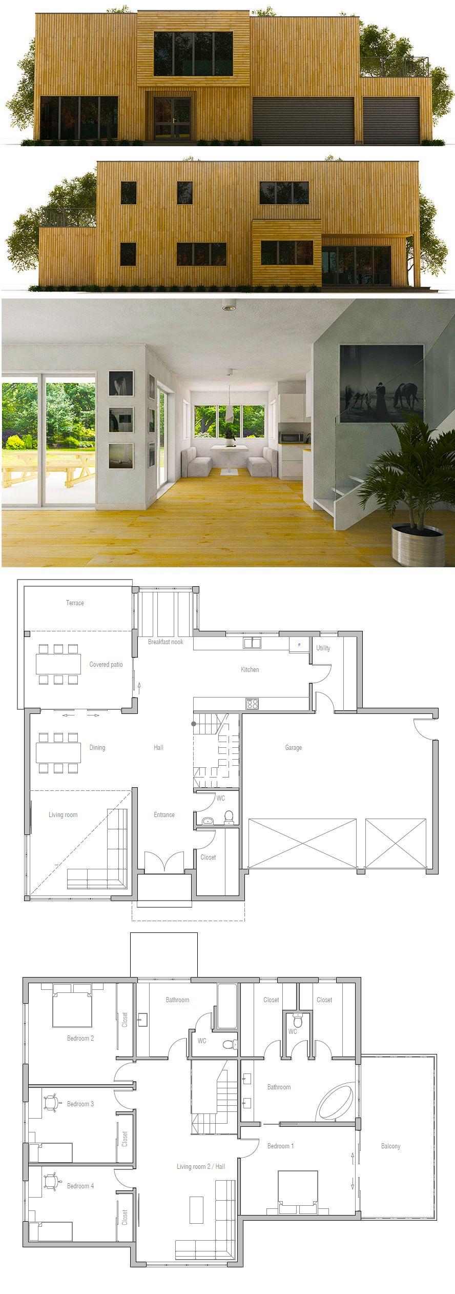 Schon Hausplan · Haus ArchitekturGrundrisseHaus ...