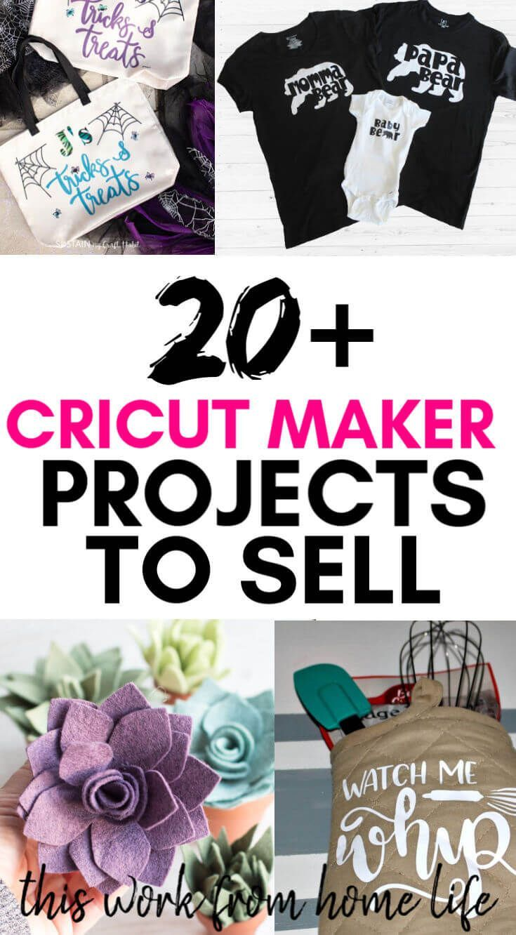 20 Cricut Maker Projects To Sell - This Work From Home Life