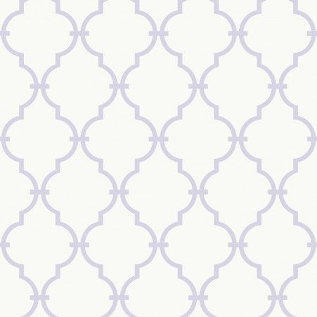 Graphic Trellis Wallpaper