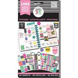 Me & My Big Ideas - Create 365 Happy Planner - Value Pack Stickers - Everyday Plans