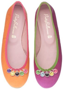 5e8b6373be0 Lucky Charms Pretty Ballerinas Happy Shoes
