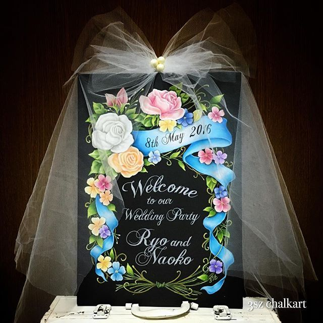 Happy Wedding something blue