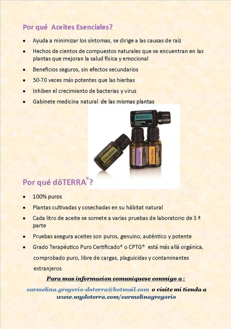 Por que usar aceites esenciales y por que uso doTerra. Unas entre ...