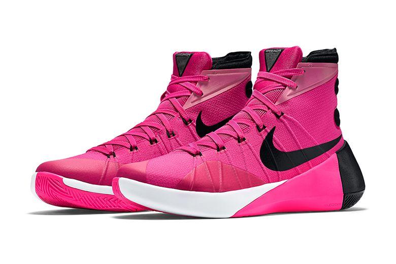 """best website 22857 7e2b8 Nike Hyperdunk 2015 """"Think Pink"""""""