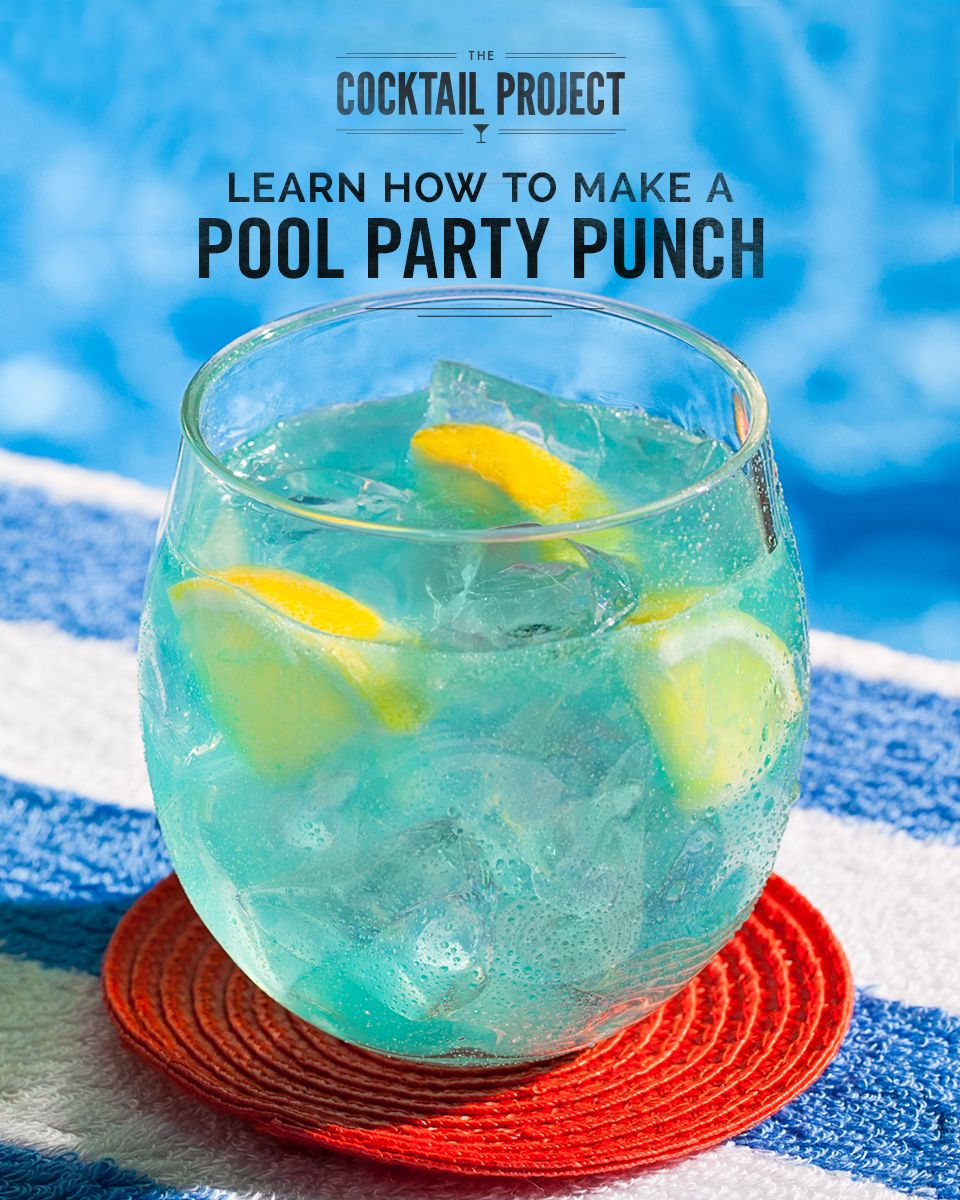 Pool party punch recipe pinnacle vodka vodka lemonade for Good easy mixed drinks