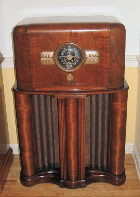 Zenith 11s474 Console 1940 N Antique Radios Old Time