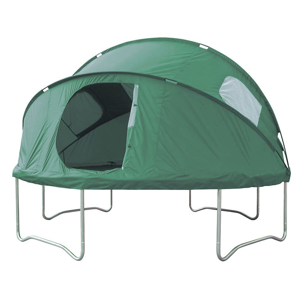 Skyhigh Folding Trampoline Tent 8ft 10ft 12ft 13ft 14ft Dome Cover Playhouse Trampoline Tent Backyard Trampoline Tent