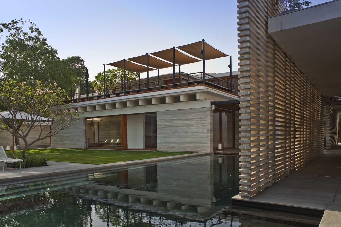 Amrita shergil marg house, by ernesto bedmar architects ...