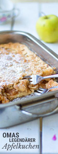 Omas berühmter apfelkuchen #applerecipes