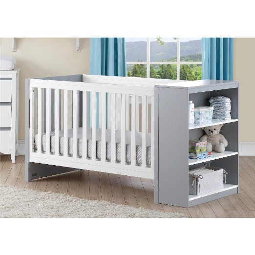 Amazon.com : Baby Relax Ayla 2-in-1 Convertible Crib with Storage ...