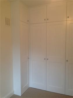 Full Height Alcove Corner Wardrobe With Panelled Doors Satin Finish 30 Best L Shaped Wardrobes Images On Pinte Corner Wardrobe Alcove Wardrobe Wardrobe Doors
