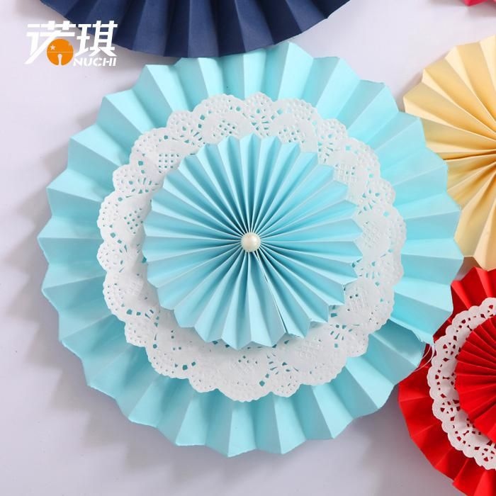 Nuoqi 20cm Fan Of Origami Paper Flowers Wedding Flowers Wedding Wedding Supplies Props Diy Christmas Decora Dia De La Escarapela Manualidades Día De La Bandera