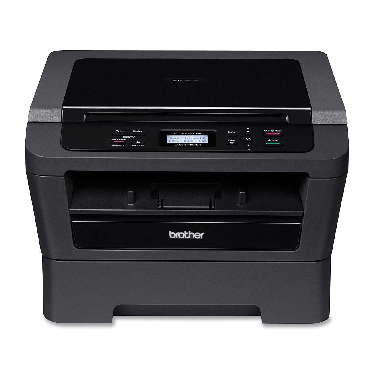 Best Home Office Laser Printer Copier Scanner: Amazon.com: Brother Printer Wireless Monochrome Printer