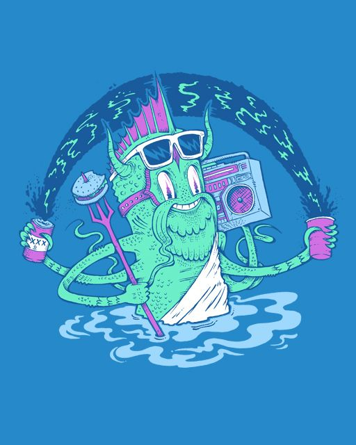 One of Tony Riff's Threadless submissions.