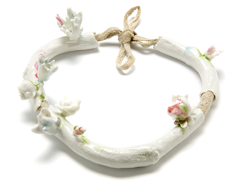 porcelain necklace - Evert Nijland