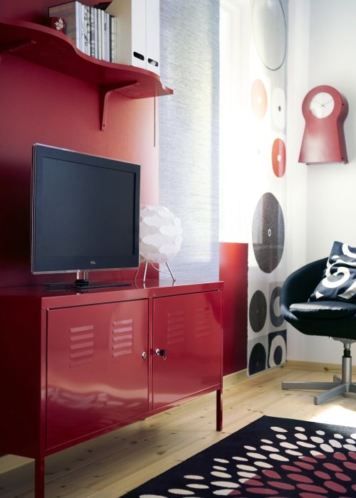 Ps Cabinet Red 46 7 8x24 3 4 Red Home Decor Ikea Living