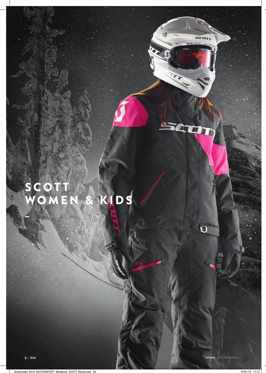 2016 Scott Sports Snowmobile CatalogCanada