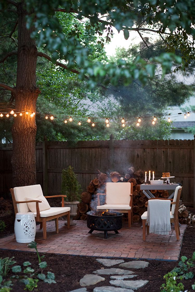 The Perfect Outdoor Living Spot The Makerista Backyard