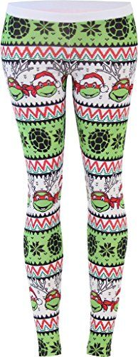 Teenage Mutant Ninja Turtles Ugly Christmas Pattern White Leggings (Juniors Small) Teenage Mutant Ninja Turtles http://www.amazon.com/dp/B015G9VDAU/ref=cm_sw_r_pi_dp_QCgvwb07Z1P1E