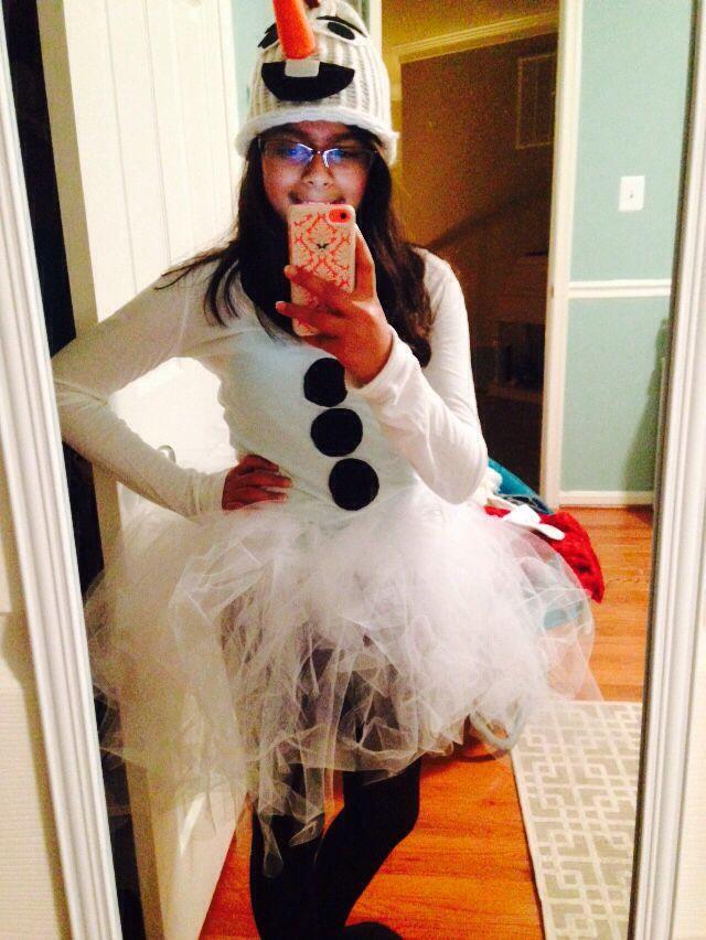 My Olaf costume