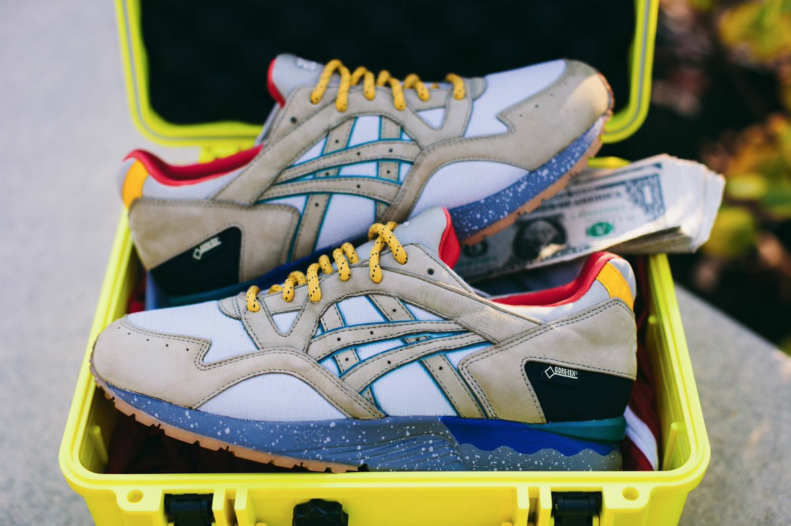 how does asics gel lyte 5 fit