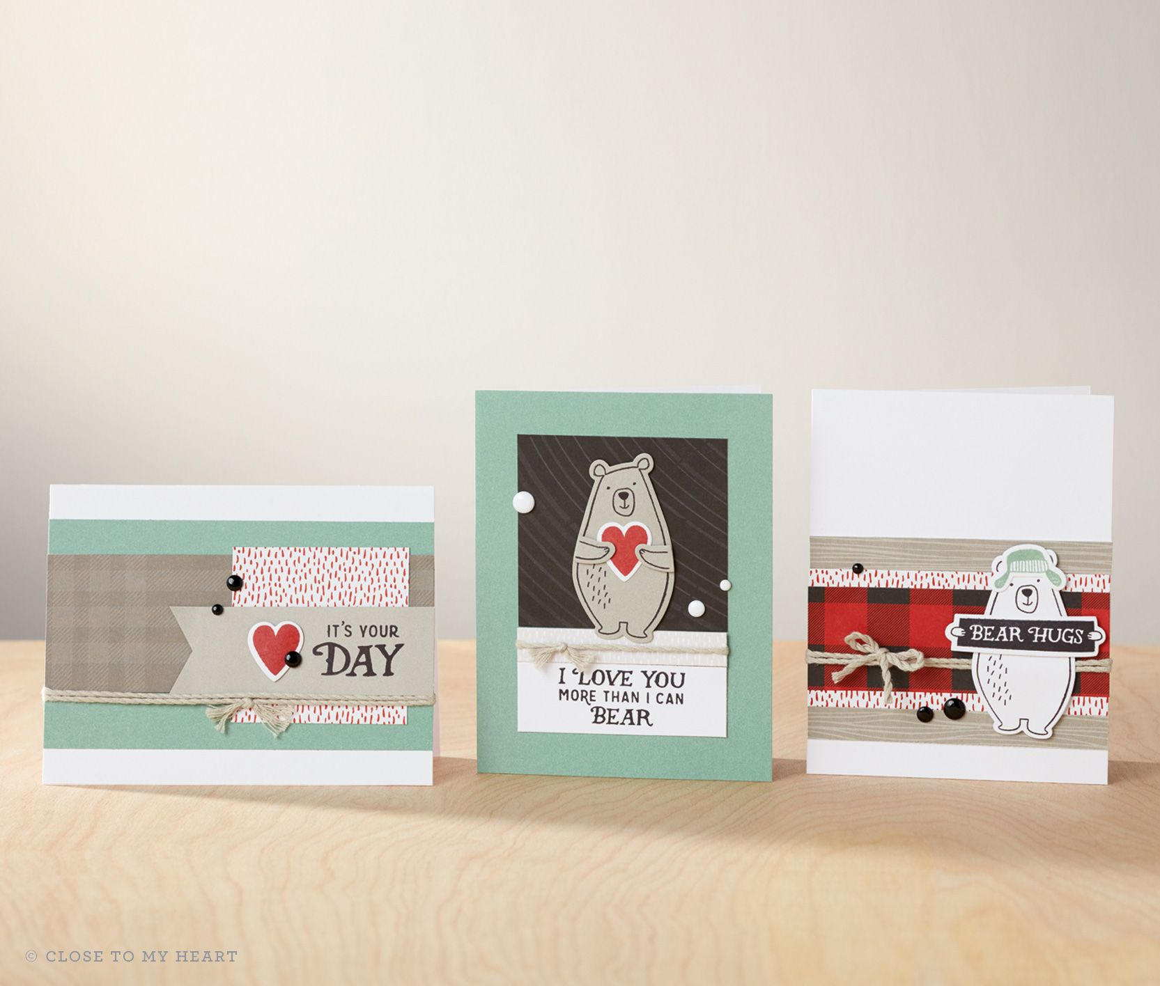 Card Making Ideas Close To My Heart Part - 32: Cute 3 Cards. CTMH Jack