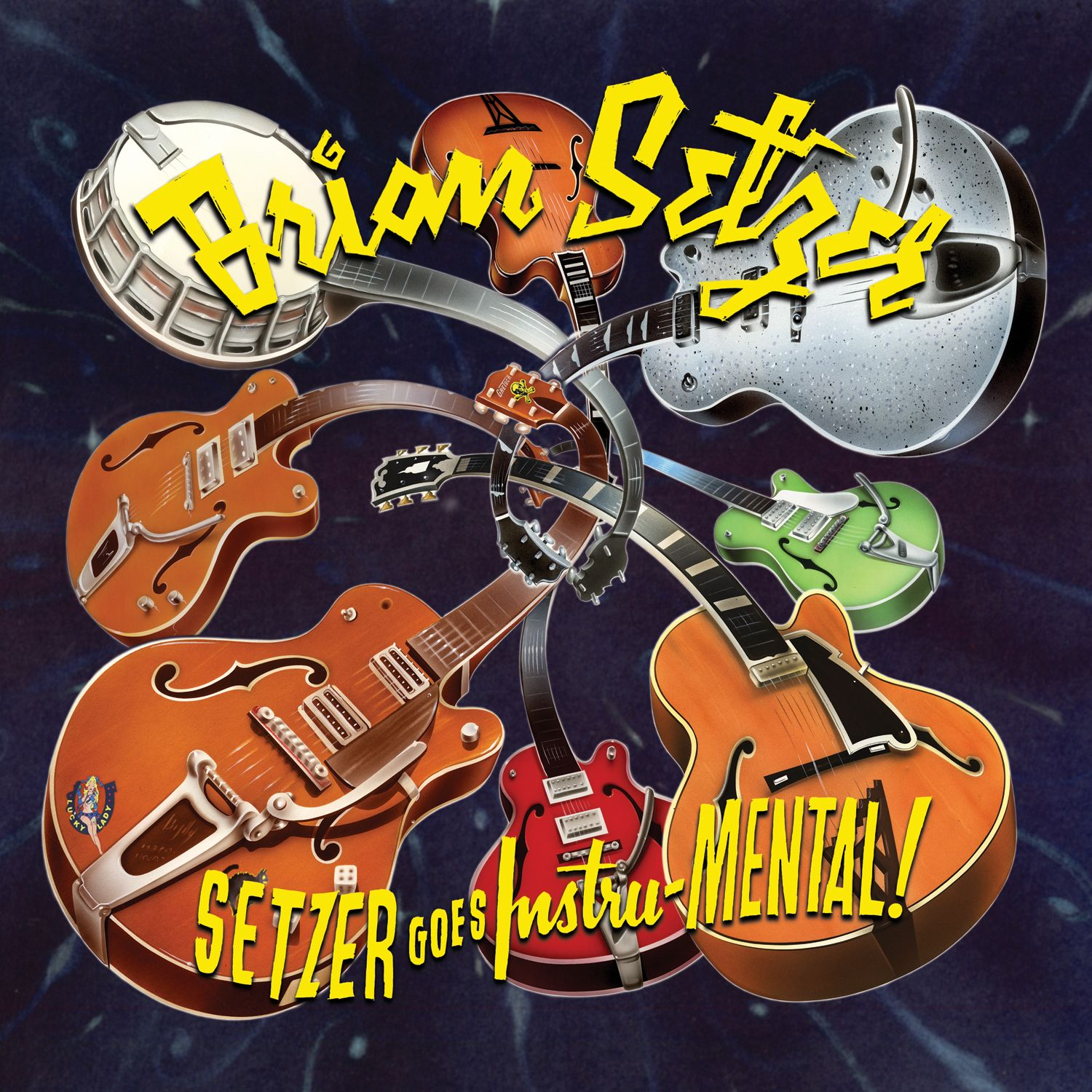 Brian Setzer Cool Album Covers Cool Things To Buy Album