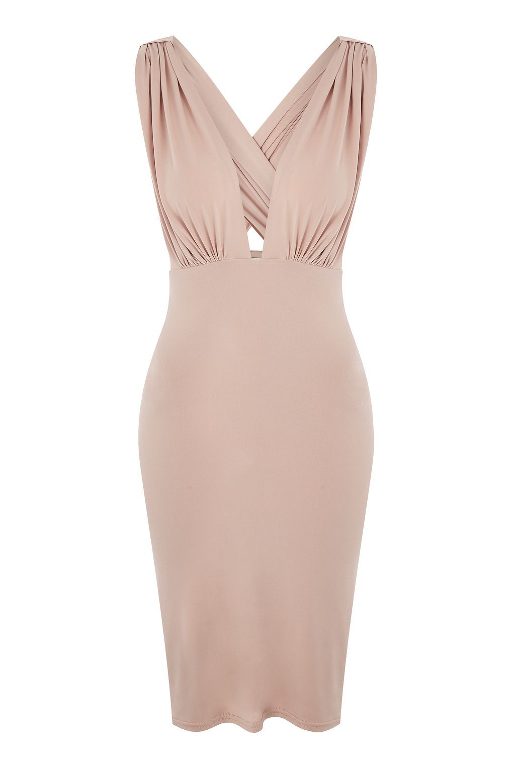 Plunge V-Neck Bodycon Dress by Love - Dresses - Clothing - Topshop Europe 6305da77a