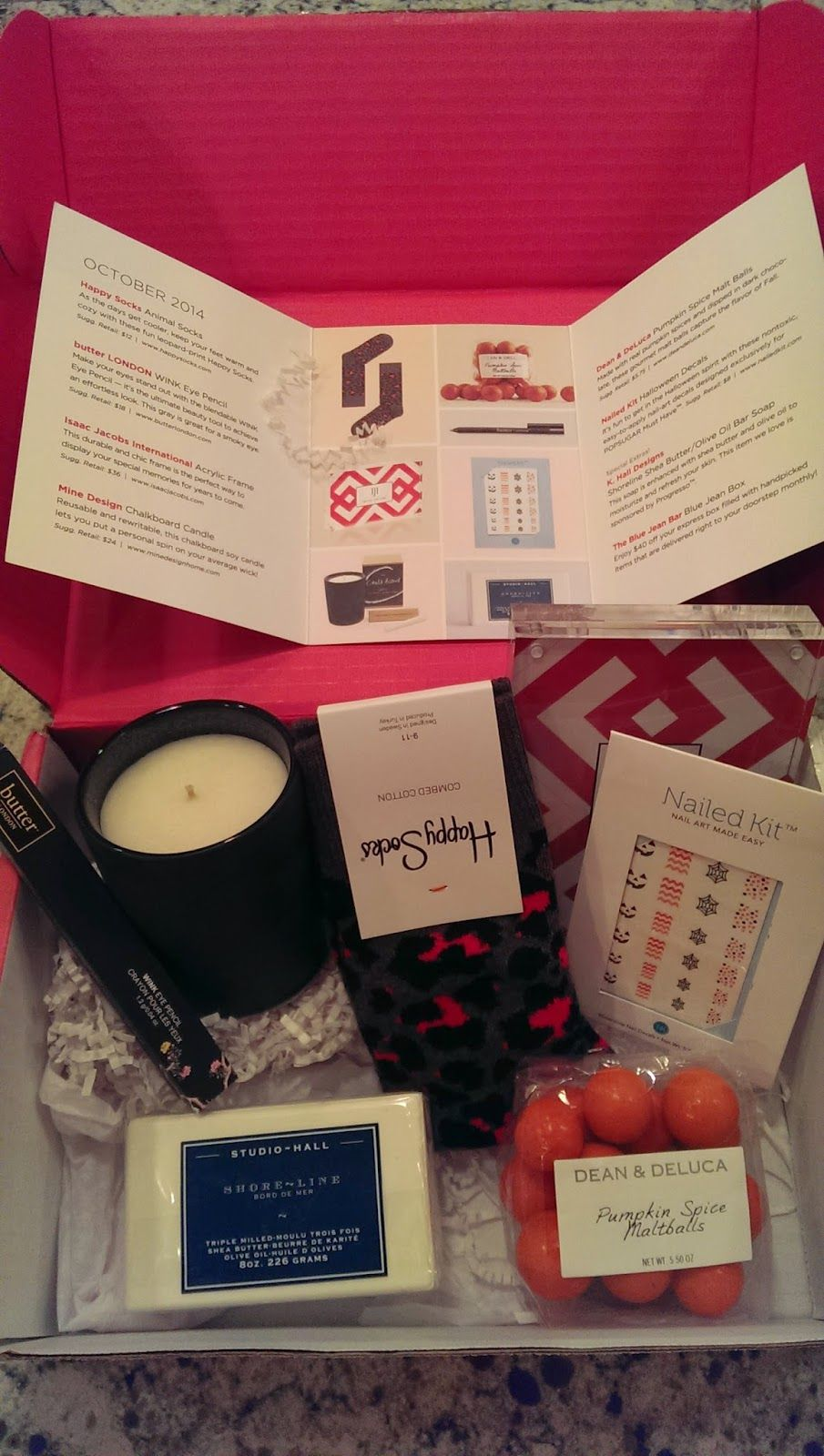 See the World in PINK: October Pop Sugar Must Have Box Review
