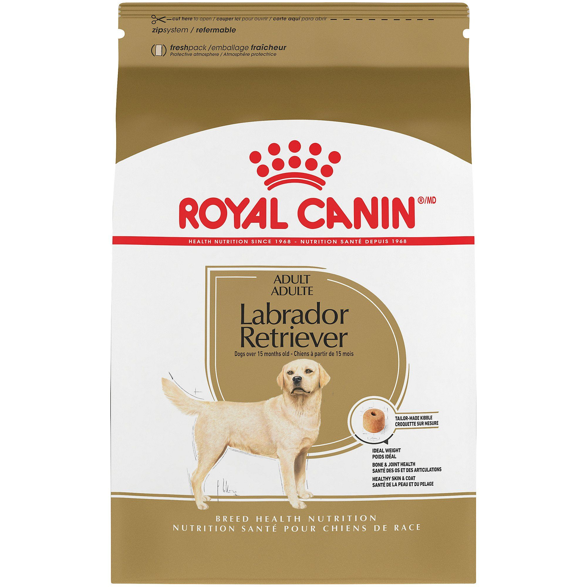 Royal Canin Breed Health Nutrition Labrador Retriever Adult Dry