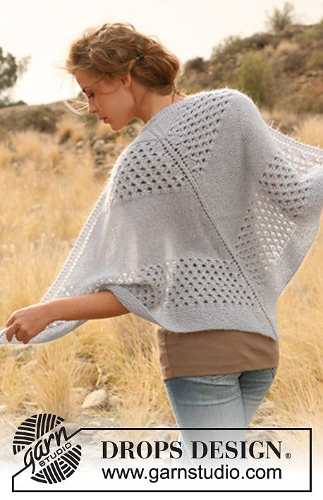 Ravelry: 129-37 Shawl with pattern by DROPS design