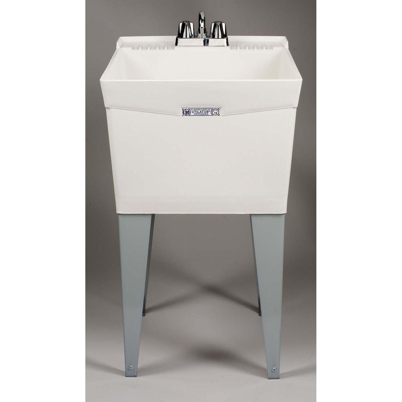 Molded Single Laundry Tub 19f Laundry Tubs Ace Hardware Laundry Tubs Utility Sink Sink