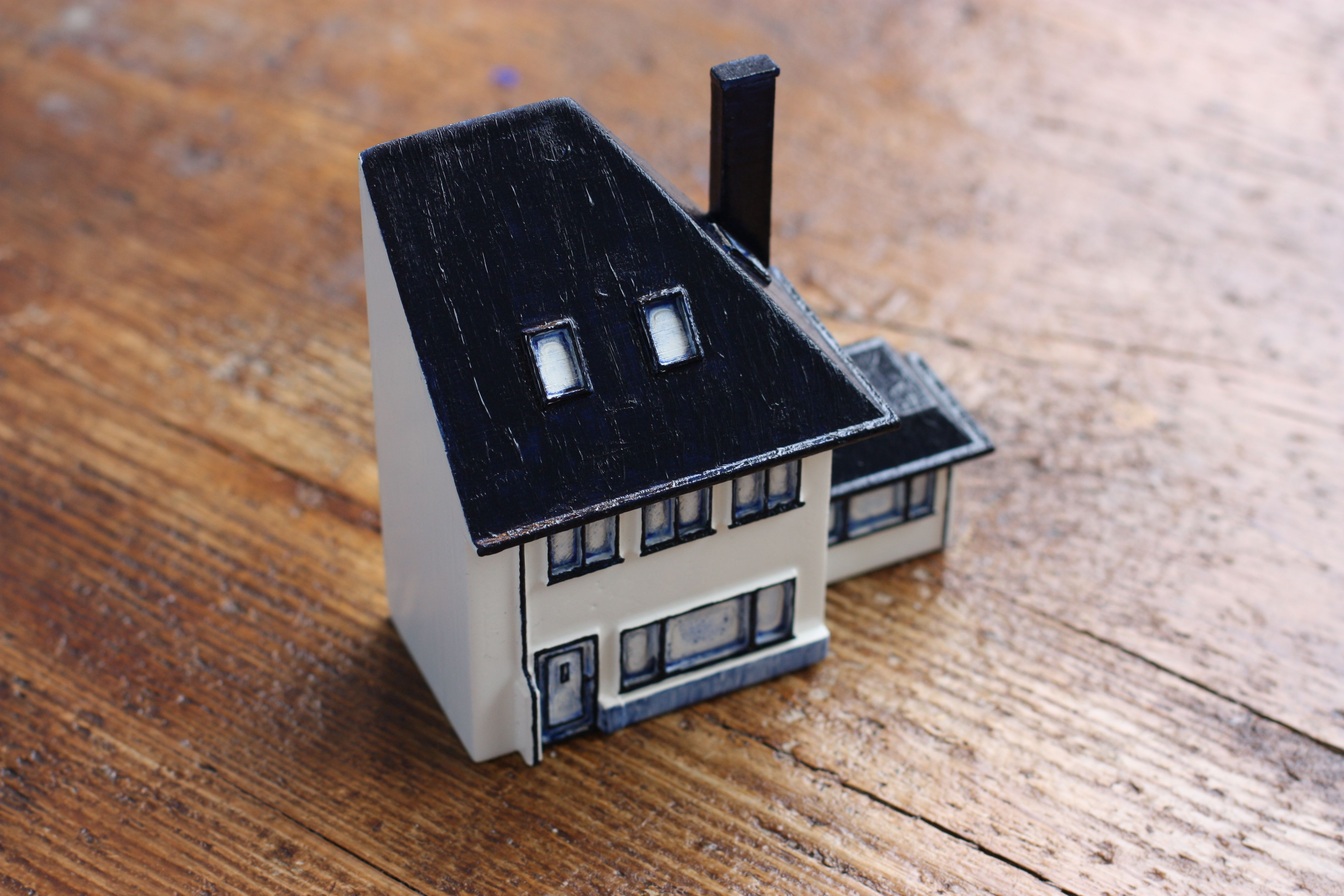 Hereu0027s One More Custom Made KLM House We Designed, Printed, And  Hand Painted For One Of Our Clients. Who Wants To See His Own House In A  Mini Version?