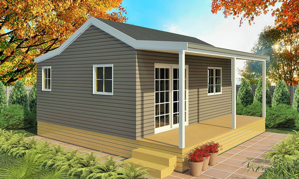 2 Bedroom Cottage House Plans Photo 6 Cottage House Plans Prefabricated Houses Prefabricated Cabins